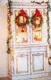 Grinalda de Advent Christmas Imagem de Stock Royalty Free
