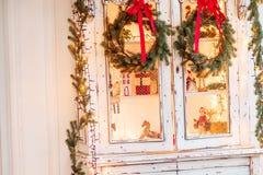 Grinalda de Advent Christmas Fotos de Stock