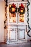 Grinalda de Advent Christmas Foto de Stock Royalty Free