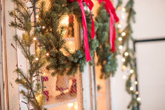 Grinalda de Advent Christmas Fotos de Stock Royalty Free