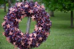 Grinalda de Memorial Day Fotografia de Stock Royalty Free