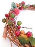 Grinalda decorativa do salgueiro Imagens de Stock