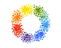 Grinalda do arco-íris Fotos de Stock Royalty Free