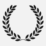 Grinalda do louro do ícone ilustração royalty free
