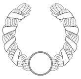 Grinalda do louro do vencedor. ilustração do vetor