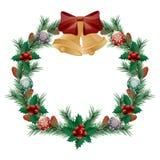 Grinalda do Natal ilustração do vetor