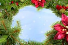 Grinalda do Natal Fotografia de Stock Royalty Free