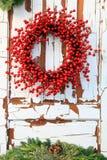 Grinalda do Natal Fotos de Stock