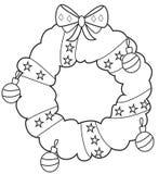 Grinalda 2 do Natal ilustração do vetor