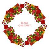 Grinalda dos feriados de inverno Imagens de Stock