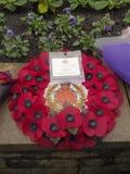 Grinalda fúnebre Fotografia de Stock Royalty Free