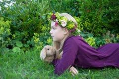 Grinalda floral Foto de Stock