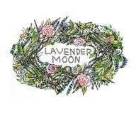 Grinalda floral Fotografia de Stock
