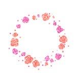 Grinalda floral da mola da aquarela Fotos de Stock Royalty Free