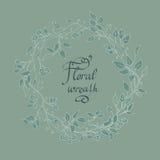 Grinalda floral do vetor Imagem de Stock