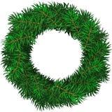 Grinalda sempre-verde do feriado ilustração royalty free