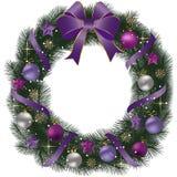 Grinalda tradicional do Natal ilustração do vetor