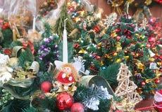 Grinaldas do Natal Foto de Stock