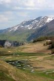 Grincement de montagne Photos libres de droits