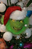 Grinch Christmas tree decoration royalty free stock images