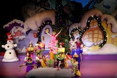 Grinch Który Kraść boże narodzenia przy universal studio Obrazy Royalty Free