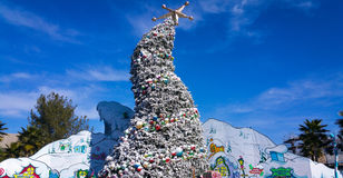 Grinchmas Tree at Universal Studios Royalty Free Stock Photography