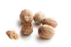 Grind nutmeg Stock Photography