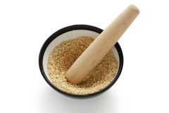 Grind sesame Royalty Free Stock Photos