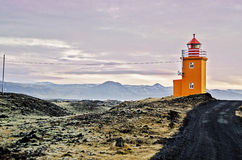 Grindavik冰岛 图库摄影
