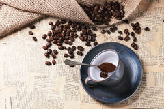 grinded кофе Стоковая Фотография RF