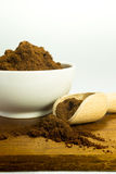 Grinded coffee Royalty Free Stock Photo