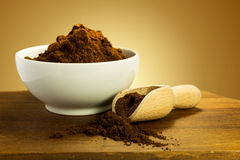 Grinded coffee Royalty Free Stock Photography