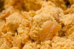 Grinded en gesneden ruwe wortel Royalty-vrije Stock Fotografie