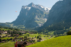 Grindelwald Stock Photo