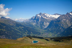 Grindelwald Royalty Free Stock Photo