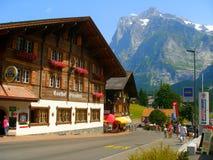 Grindelwald Fotografie Stock
