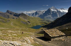 Grindelwald - bello paese Fotografia Stock