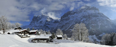 Grindelwald Royalty Free Stock Photos