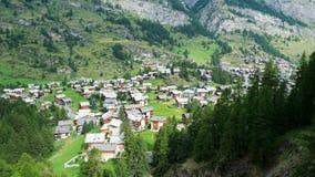 Grindelwald-Dorf Stockbilder