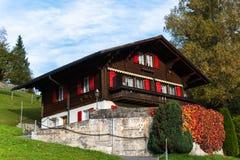 Grindelwald Dorf, die Schweiz Stockfoto