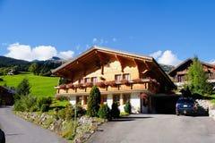 Grindelwald-Dorf, die Schweiz Lizenzfreie Stockfotografie