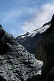 Grindelwald Glacier in Switzerland Alps. Switzerland Alps. Grindelwald Glacier in nature park Stock Photo