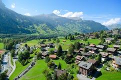 Grindelwald landscape, Switzerland Royalty Free Stock Image