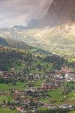 Grindelwald with mount Eiger, Switzerland Royalty Free Stock Image