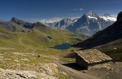 Grindelwald - schönes Land Stockfoto