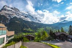 grindelwald switzerland Royaltyfri Bild