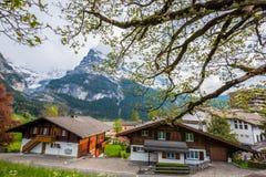 grindelwald switzerland Arkivbilder