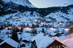 Grindelwald - Switzerland Royalty Free Stock Images