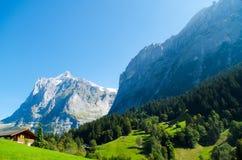 Grindelwald, Switzerland Royalty Free Stock Images