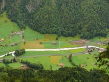 Grindelwald switzerland E lizenzfreies stockfoto